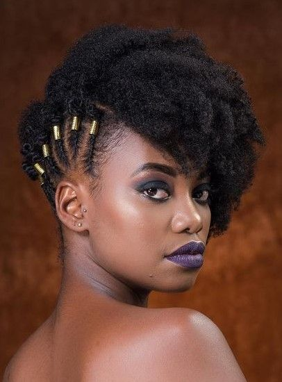 Pin By Anointed On Natural Styles Short Hair Styles Natural Hair Styles Short Natural Hair Styles