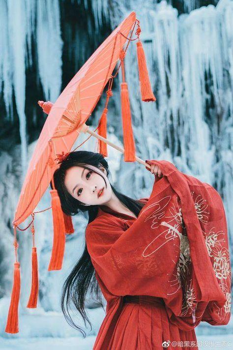Beautiful Chinese women girls in the world Pose Reference Photo, Art Reference Poses, Hanfu, Human Poses, Cooler Look, China Girl, Art Poses, Chinese Clothing, Ulzzang Girl