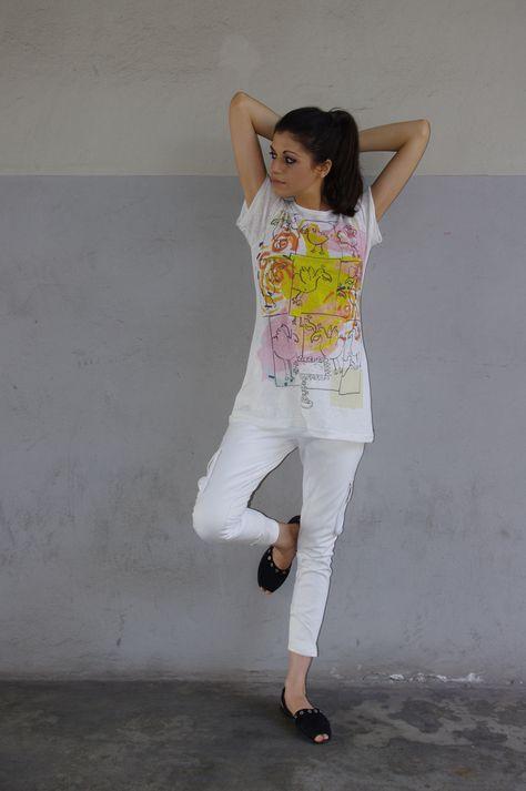 Studio Ypsilon Milano by Yoshi Funabashi 2017 SS Women T-shirt