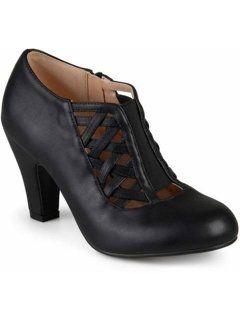 9be6aa6b788 Brinley Co. Women's Round Toe High Heel Matte Booties | Cornbread ...