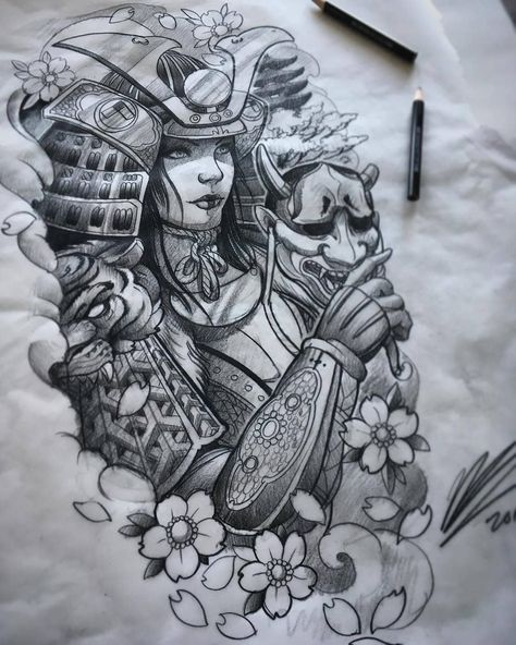 """4,477 Likes, 10 Comments - Irezumi Collective (@irezumicollective) on Instagram: """"🐉💀🌺 Artwork by: Clint Danroth Location: White Rock BC, Canada Artist's IG: @cdanroth…"""""""