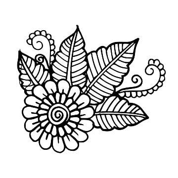 Gambar Elemen Bunga Hitam Putih Yang Digambar Tangan Yang Indah Tangan Ditarik Hitam Png Dan Vektor Dengan Latar Belakang Transparan Untuk Unduh Gratis Menggambar Tangan Bunga Latar Belakang
