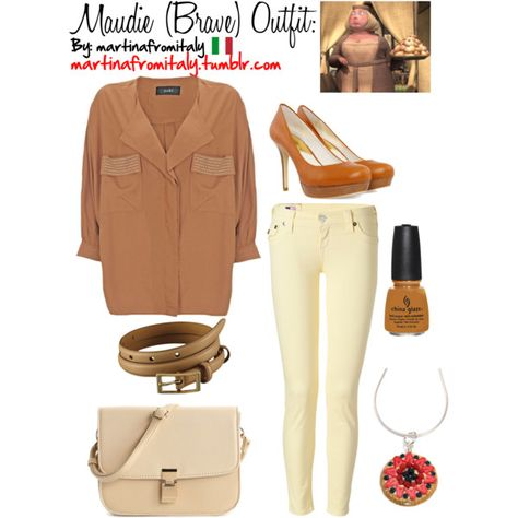 """""""Maudie (Brave) Outfit:"""" by martinafromitaly on Polyvore"""