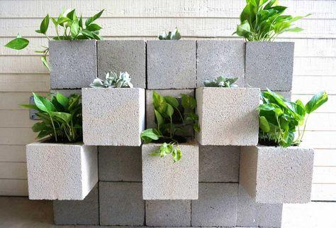 Fioriere Fai Da Te ~ Vasi fioriere realizzate con mattoni come fare composizioni fioriere
