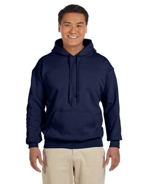 Hooded Sweatshirt Men/'s Adult Blank Hoodie Heavy Blend 8 oz Royal
