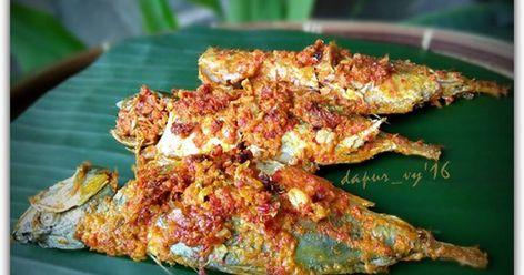 Resep Ikan Kembung Bakar Padang Oleh Dapurvy