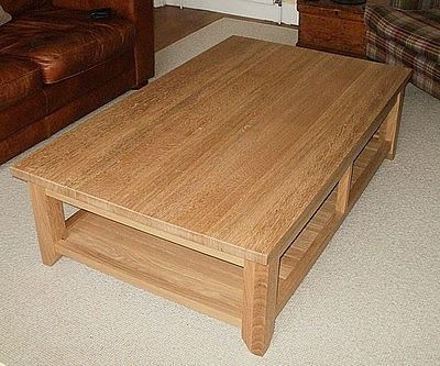 Solid Oak Coffee Table Axe Split And Shaped Legs With End Grain Tiles Best For Chopping Or Splitting Wood Pinterest