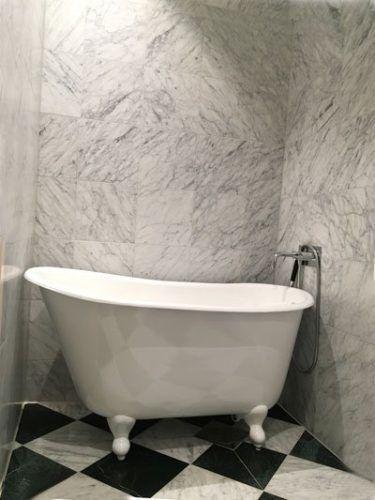 badkar med tassar 130 cm
