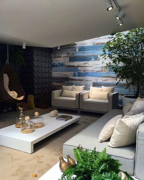 Um Dos Espaços Mais Aconchegantes Da Casa Cor Pb 2016 Lounge De Entrada