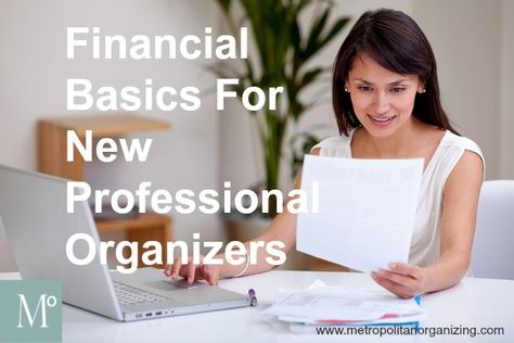 Professional Organizer Training | Finances | Geralin Thomas