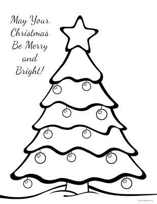 Christmas Coloring Page Christmas Tree Merry Christmas Coloring Pages Printable Christmas Coloring Pages Christmas Tree Coloring Page