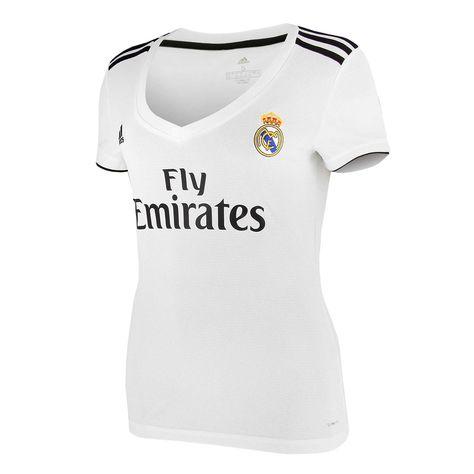 Camiseta mujer 1a Real Madrid 18 -19 blanca  8396b29c9f477