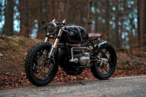 It Doesn't Get Much Cooler Than This Black Stallion BMW R100
