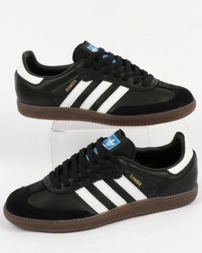 Adidas Samba OG Trainers BlackWhiteGum | Adidas samba