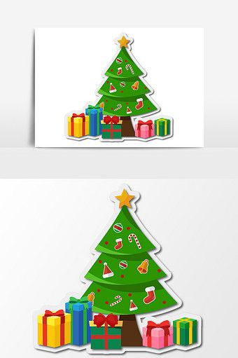 Cartoon Hand Drawn Christmas Tree Multi Element Pattern Png Images Ai Free Download Pikbest How To Draw Hands Christmas Design Greeting Card Illustration