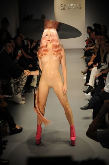 Naked Model Fashion Show