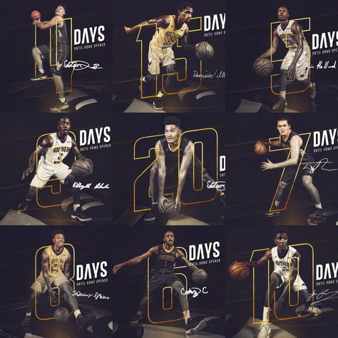 sports graphics - Southern Miss : Countdown Series