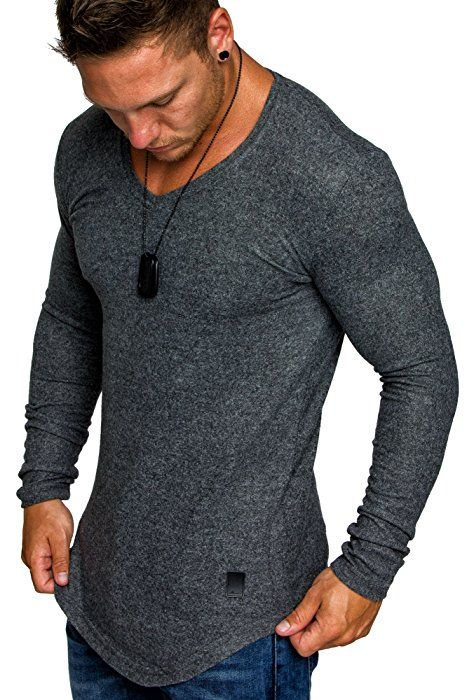 Shoppen Sie Amaci&Sons Herren Oversize Basic Pullover