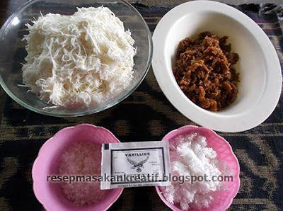 Resep Sawut Singkong Gula Merah Food Food And Drink Tasting