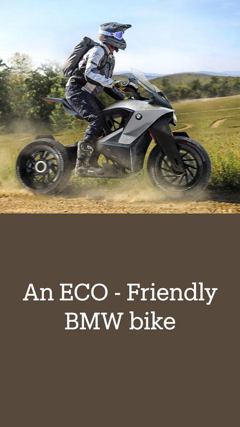 An ECO - Friendly BMW bike