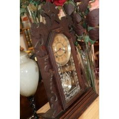 Pin By Africa Safari Camps On Vintage Mantel Clock Antique Wall Clock Clock