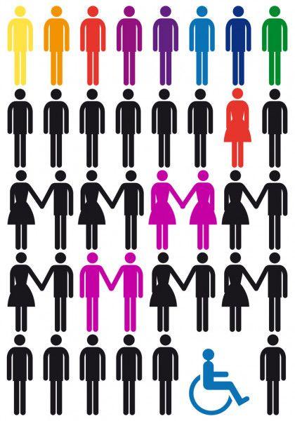 ᐈ Discriminación Imágenes De Stock Dibujos Discriminacion Descargar En Depositphotos Set De Iconos Racismo Y Discriminacion Clases De Arte