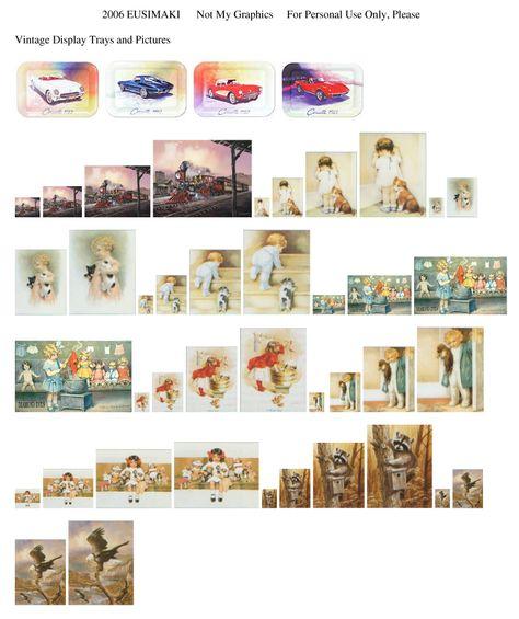 Dollhouse Photography Calendar : Free mini printables printies on pinterest miniatures