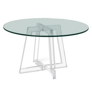 Interlude Home Stella Acrylic Dining Table Paynesgray Dining