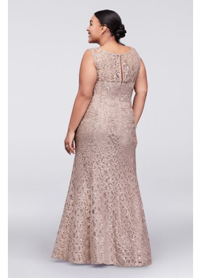 5632807da55 Long Lace Plus Size Dress with Beaded Capelet 3523DW | The effects of a  granddaughter | Dresses, Nordstrom jackets, Mom dress