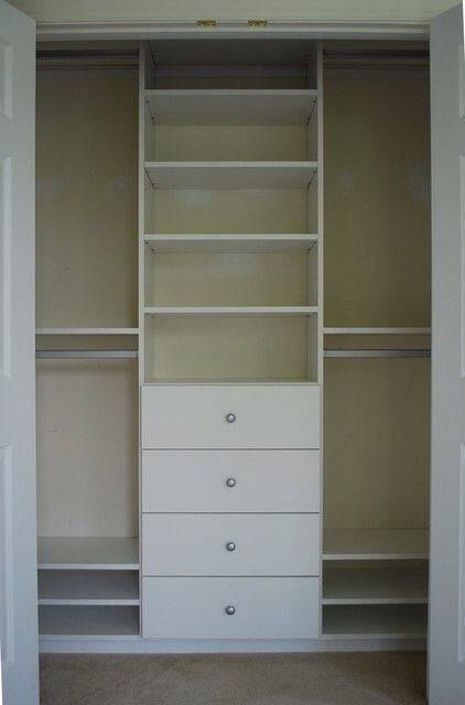 Good Small Closet Idea | Interior Accents | Pinterest | Small Closets,  Organizations And Bedrooms