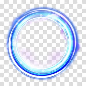 Round Blue Frame Light Circle Frame Transparent Background Png Clipart Circle Light Circle Frames Blue Frames