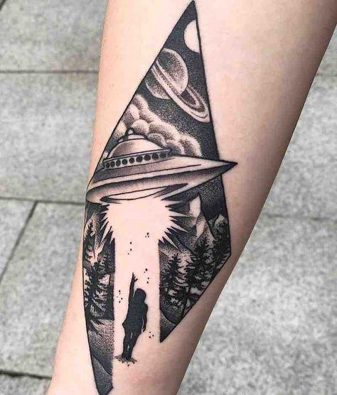The Best UFO Tattoos