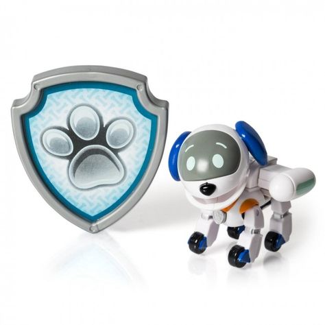 Pat Patrouille Coffret Chiot Et Badge Chien Robot