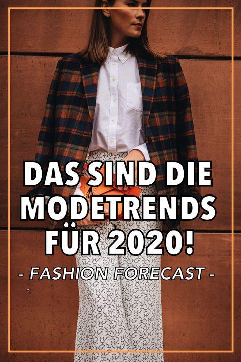 Das sind die Modetrends für 2020!