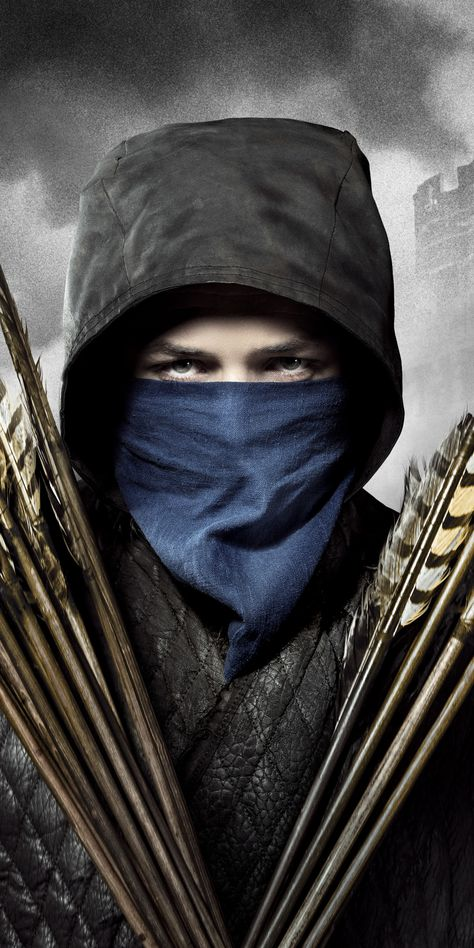 Robin Hood, Taron Egerton, 2018 movie, 1080x2160 wallpaper