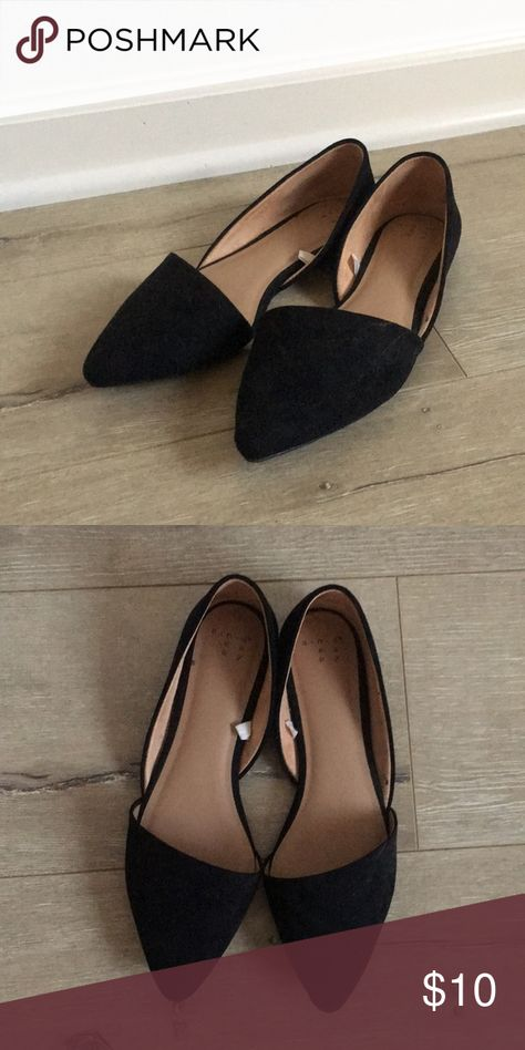 b64af8ef9d9 Target Black Flats Cute modern work Flats Great condition a new day Shoes  Flats   Loafers