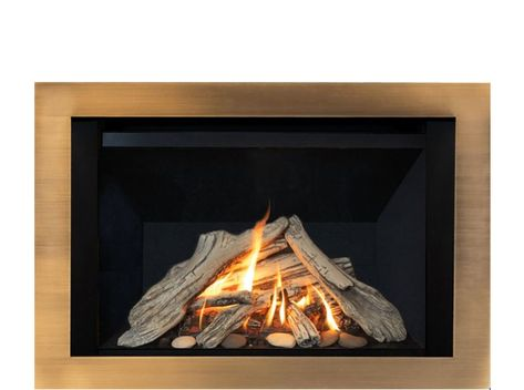 H3 Mid Size Gas Fireplace Gas Fireplace Contemporary Gas