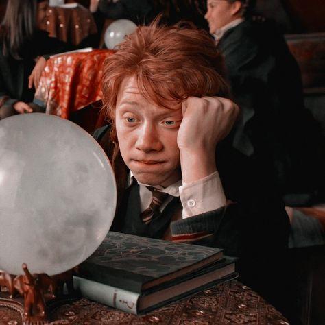 ᝰꪳ⃟🎨༘݃࿐ Metadinha • Harry Potter e Ron