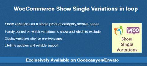 WooCommerce Show Single Variations in loop | Stylelib