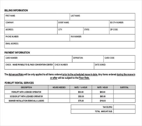 Rental-Services-Order-Form-PDF-Templatejpg (585×520) $ lead - service form in word