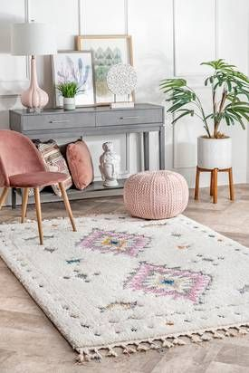 Rugs USA White Cloudcraft Carved Tribal Shag rug - Shags Runner x usa runner Cloudcraft Carved Tribal Shag White Rug Home Office Design, Home Office Decor, Home Decor Bedroom, Living Room Decor, White Shag Rug, White Rugs, Rugs Usa, Rug Size, Sweet Home