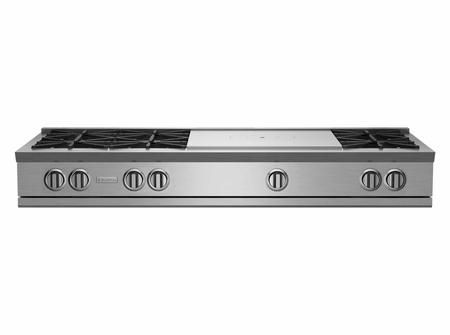 Rgtnb606ftv2 60 Rnb Series Rangetop With 24 French Top 6 Burners Stainless Steel Drip Tray And In 2020 Drip Tray Steel Stainless Steel