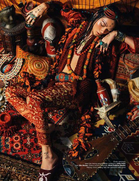 Harper's BAZAAR Indonesia Photography Nicoline Patricia Malina Model Darell Ferhostan