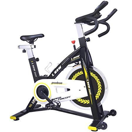 Pooboo Indoor Cycling Bike Trainer Professional Exercise Bike