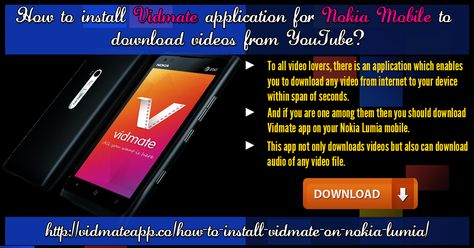 Install vidmate for nokia lumia to download youtube videos vidmate install vidmate for nokia lumia to download youtube videos vidmate is an amazing downloa install vidmate for nokia lumia to download youtube videos ccuart Images