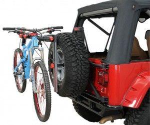 Jeep Wrangler Bike Rack Jeep Wrangler Jeep Jeep Parts