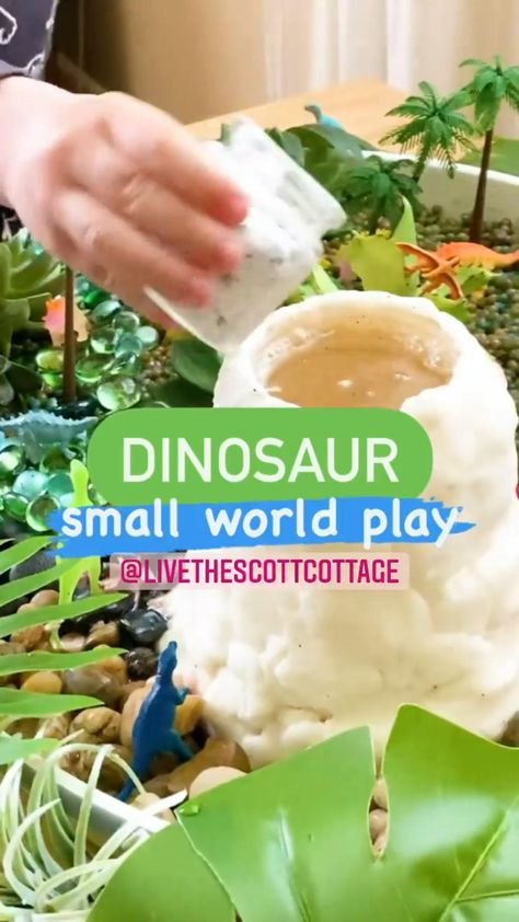 Preschool Dinosaur Small World Play