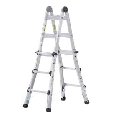 The 11 Best Multi Position Ladders In 2020 Reviews Ladder Cosco Telescopic Ladder