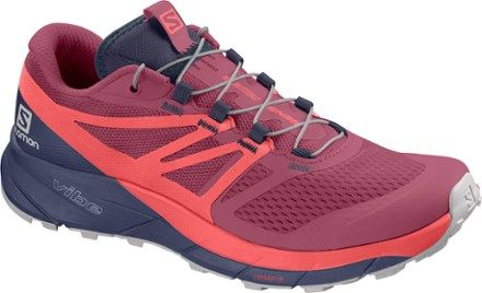 Salomon SENSE RIDE 2 Chaussures trail Femme malagadubarry