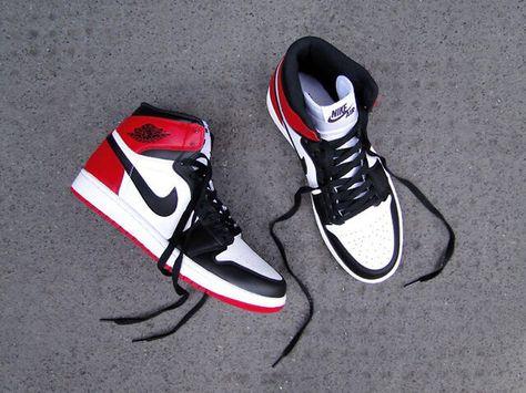 "the latest free shipping designer fashion Air Jordan 1 Hi ""Black Toe"" Retro | Air jordans, Jordan 1 black ..."
